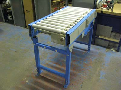 Second hand conveyors